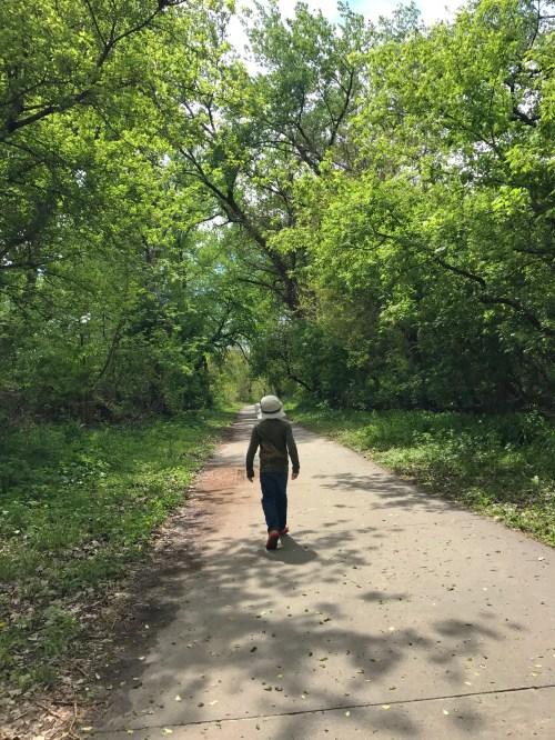 Cowboy Trail - the beginning