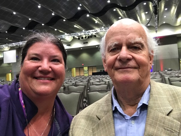 Me and Peter Usborne, founder of Usborne Books