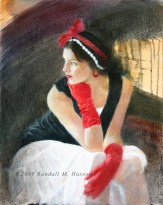 Holly Red Gloves