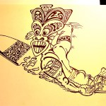 Tiki Surfer