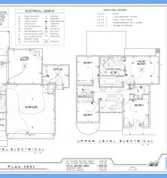 electrical plan [ 2012 x 1314 Pixel ]