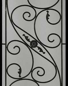 Addison Wrought Iron Door Insert