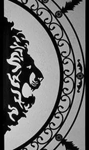 Alexander Wrought Iron Door Insert