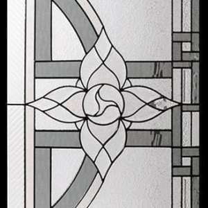 Anabelle Stained Glass Door Insert