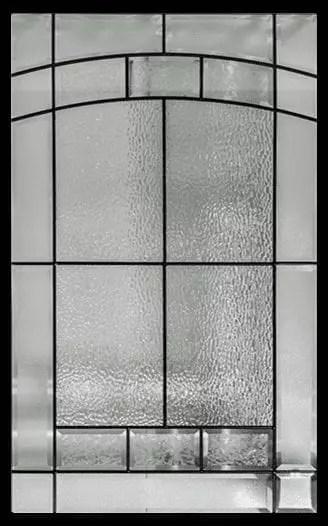 Ashbourne Stained Glass Door Insert