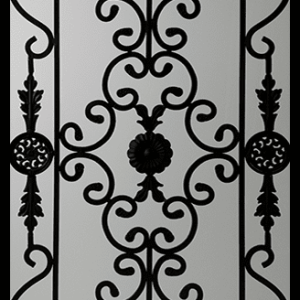 Edenstone Wrought Iron Door Insert