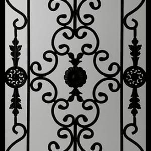 Edenstone Wrought Iron Door Insert