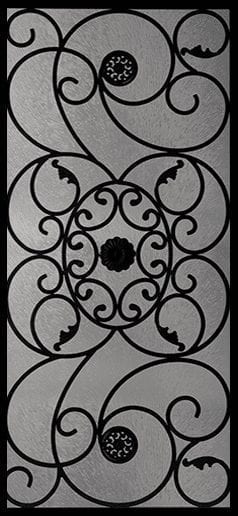 Leacrest Wrought Iron Door Insert