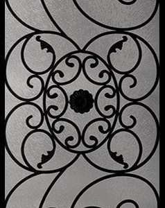 Leacrest Wrought Iron Door Insert