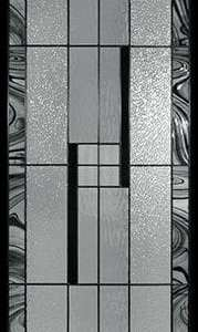Miller Stained Glass Door Insert