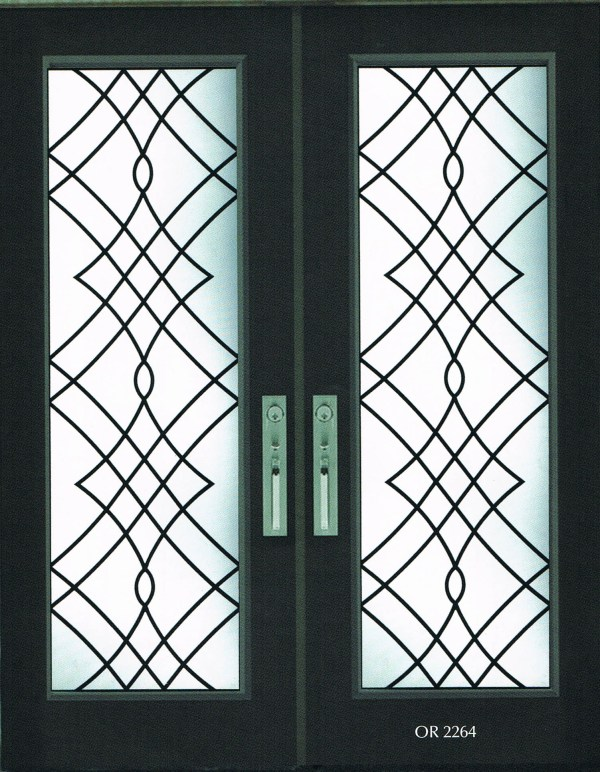 Oak Ridge Wrought Iron Door Insert