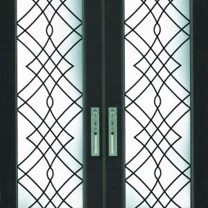 Oak Ridge Wrought Iron Door Insert
