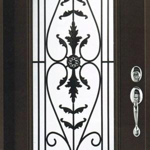 Portland Wrought Iron Door Insert