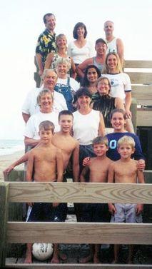Steinberg-Hoppe gang: Virginia Beach, VA - Summer 2000