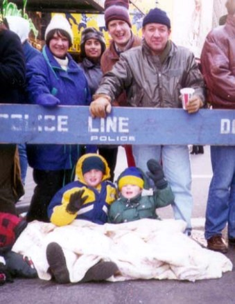 The Family's First Thanksgiving Parade - 199?