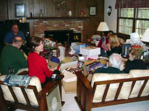 Gifting at the Shakespeare home