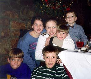 Steven, Laura, Steph, Craig, Chris & TJ - 199?
