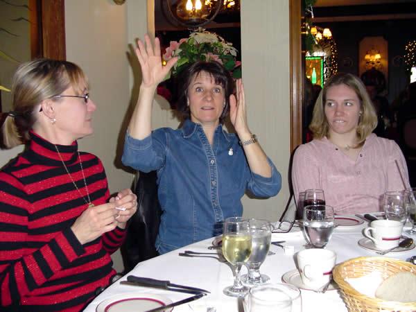 Kathy, Ellen, Steph at Niederstein's
