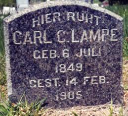 Carl C Lampe gravestone