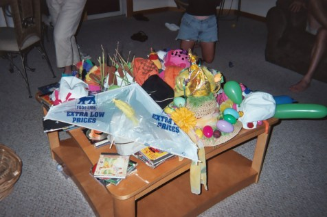 Hat table...