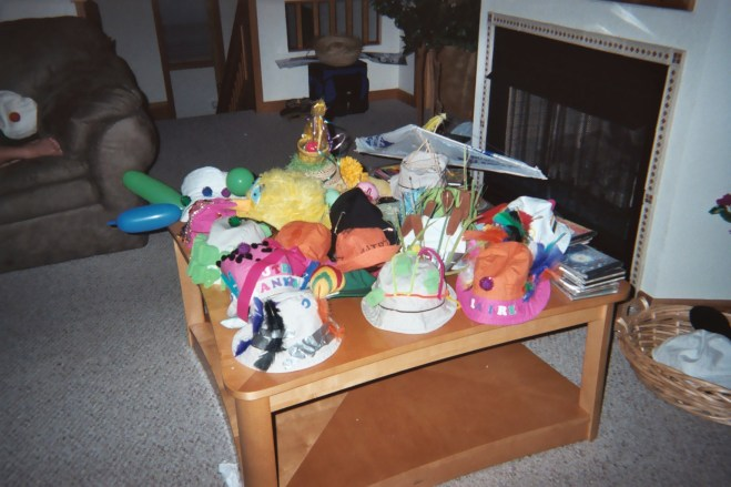 Hat table..