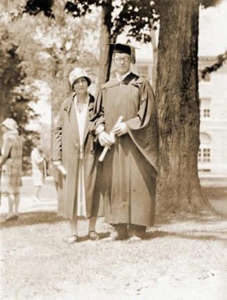 Magda Lampe Steinberg & John Steinberg, 1928