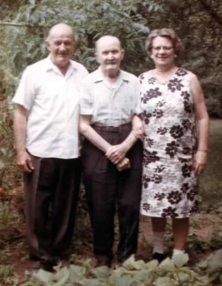 Gus, Ernst and Dolly