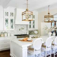 Kitchen Cabinets To Go Freestanding Island Dark Light Before And After - Elegant White ...