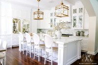 Dark to Light Kitchen Before and After - Elegant White ...