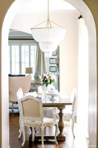 Transitional Kitchen Nook Remodel - Styled for Spring