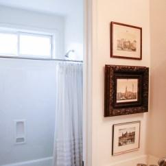 Redesigning A Kitchen Slicer Transitional Guest Bathroom Makeover - Mood Board & Before ...