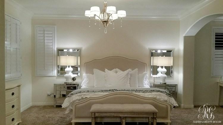 Elegant Master Bedroom Makeover Dark To Light Randi Garrett Design