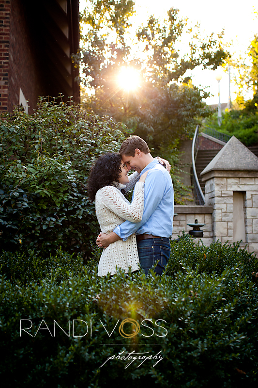 Rachel and Devins Engagement Session in Highland Park