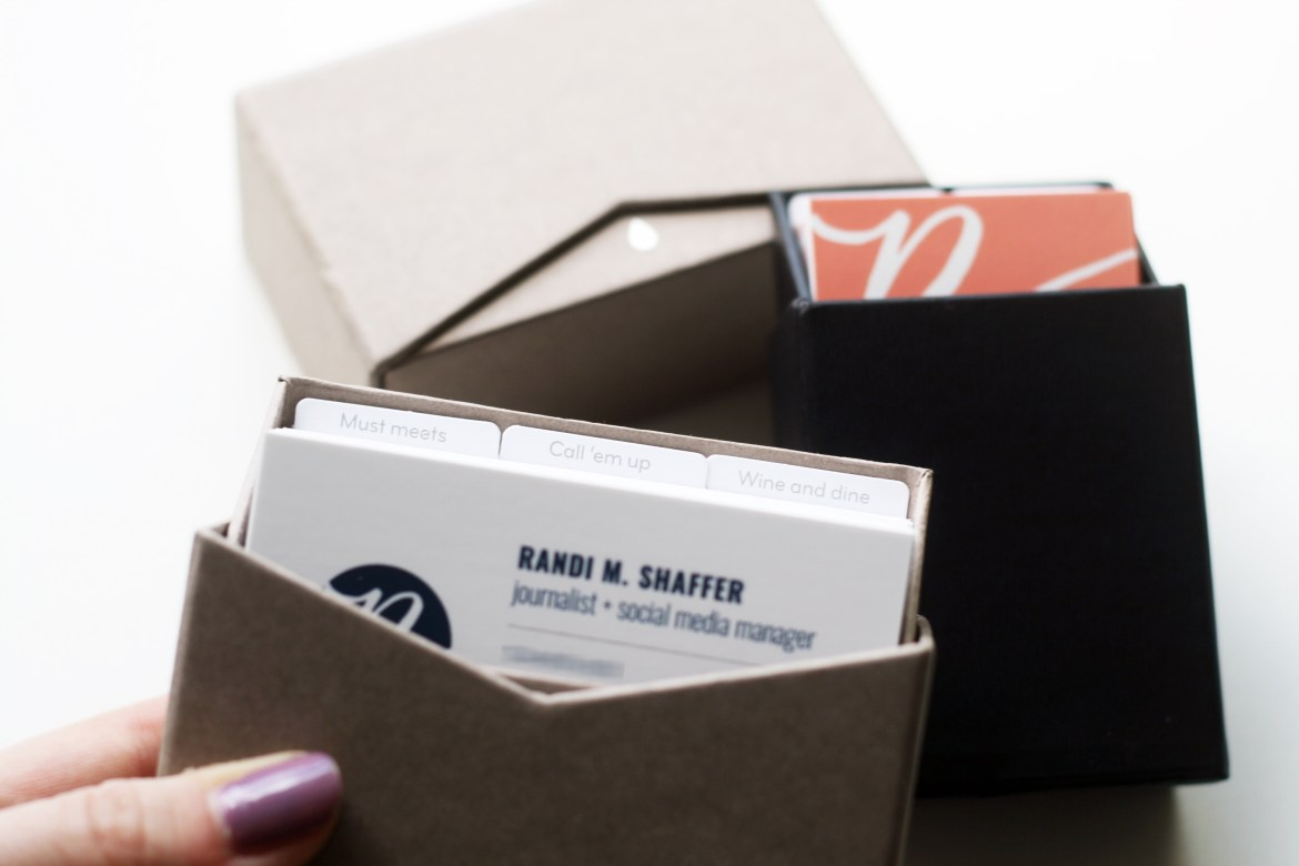 Tips for designing and printing business cards — Randi ...