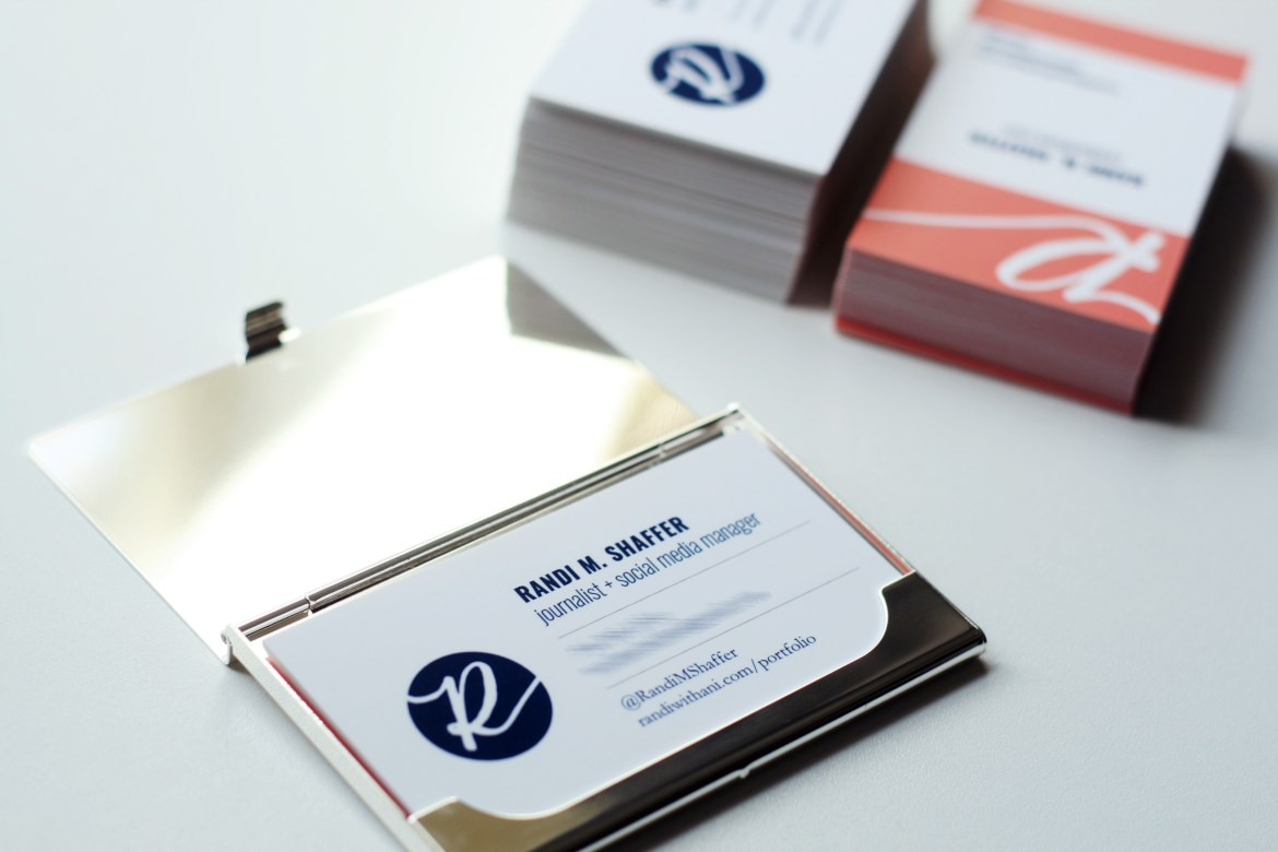 Tips for designing and printing business cards — Randi with an i