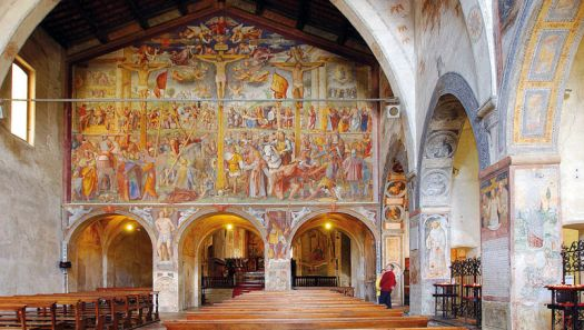 Lugano. Santa Maria degli Angioli