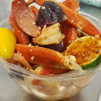 crab bowls, crab legs, shrimp, steamed crab, R&L Crab, crab delivery,
