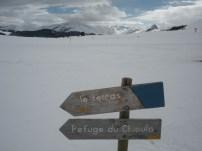 Au sommet, direction le refuge du Chioula...