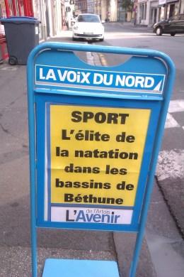Championnat France Natation Minimes bethune1
