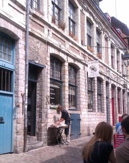 La Bottega, Rue Péterynck - épicerie fine italienne en face de la Pizza Bottega