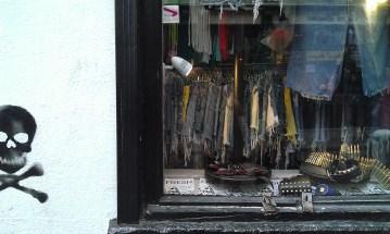 16-Dublin quartier Temple Bar Vitrine