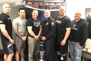 Randolph Police Raises $1,000 for Sgt. Chesna Family Fund During 2nd Annual Fitness Cup Challenge