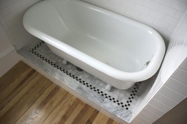 new old bath renovation  Randolph Restoration