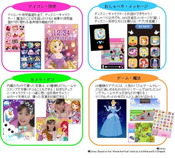 「ディズニーキャラクター マジカルポッド パープル」