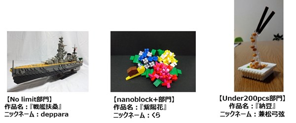 第5回「nanoblock AWARD 2014-2015」