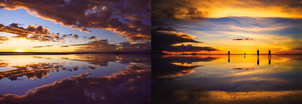 ウユニ塩湖(ボリビア)