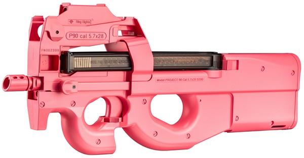 「特別エアガンP90」(ピンクのピーちゃんver.)