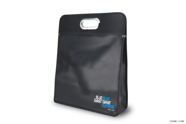 BLUE GIANT SUPREMEのロゴをあしらったレコードバッグ