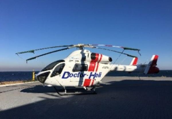 救急救命で活躍する「ドクター・ヘリコプター」
