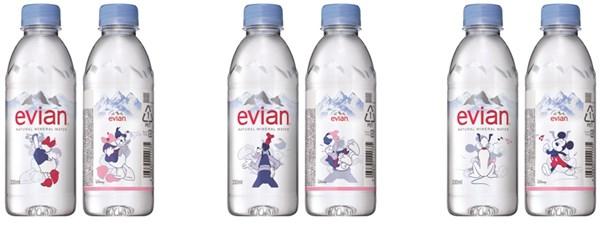 エビアン ディズニーデザインボトル2018330ml(全6種)